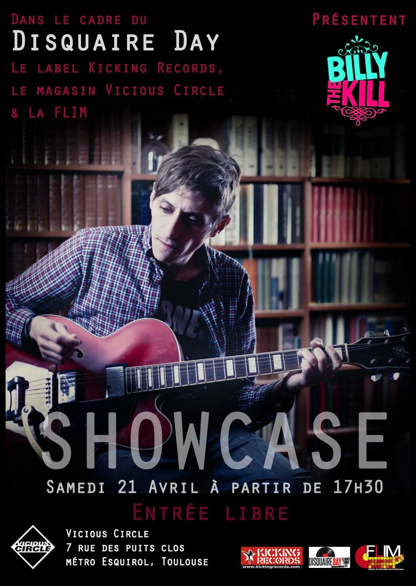 Disquaire Day - showcase Billy The Kill
